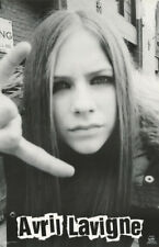 LOT OF 2 POSTERS :MUSIC: AVRIL LaVIGNE - FACE POSE -  FREE SHIP  #6584    LC27 T