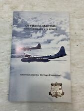 CAF Confederate Air Force Vintage Officer's Manual