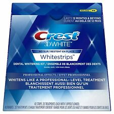 CREST3D WHITESTRIPS PROFESSIONAL EFFECTS 20CT
