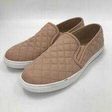 Pull & Bear Shoes UK 6.5 Slip On Style Quilted Light Pink Casual Women 301363