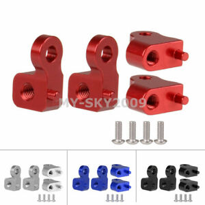 CC070 Front + Rear Upper Damper Shock Mount Fits RC 1/10 TAMIYA CC-01 CHASSIS