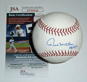 BREWERS Paul Molitor signed baseball w/ HOF 04 JSA COA Autographed Milwaukee