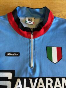 Retro Style Santini Salvarani Cycling Jersey
