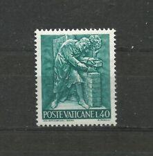 Vatican 1966 Works 40 Lira MNH Vaticano
