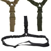 US Single Point Outdoor Tactical Military Bungee Sling With Quick Release Buckle