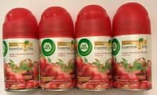4 AirWick Freshmatic Ultra Refill Automatic Spray Apple Cinnamon Medley 6.17oz