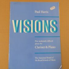 clarinet VISIONS five moderately difficult pieces, Paul Harris, abrsm