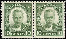 Canada Mint NH F-VF Pair of 10c Scott #190 1931 Cartier Issue Stamps