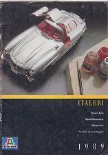 ITALERI PLASTIC MODEL Aerei Navi e kit di veicoli 1989 GAMMA DI PRODOTTI CATALOGO