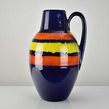 Scheurich Pottery Floor Vase Jug Mid Century Modern Retro Space Age Vintage
