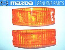NEW!!MAZDA RX-7 SAVANNA SA22C Corner Turn Signal Lens OEM JDM Parking Lamp Light