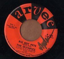 ARVEE doo wop R&B rocker 45  THE OLYMPICS - Big Boy Pete + The Slop  GREAT