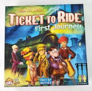 Ticket To Ride First Journey Days Of Wonder Children's Edition ages 6+ NEW