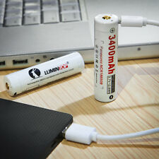 LUMINTOP LM34C Micro-USB 18650 RICARICABILE Li-ion PILE BATTERIE 3400mAh