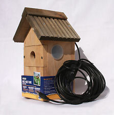 GARDMAN MULTI-BIRD NESTBOX WITH WEBCAMERA, 11.5m BOOSTED CABLES, FOR PC/LAPTOP