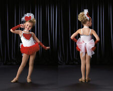 BE MINE Cupid Valentine Ballet Tutu Jazz Tap Dance Costume w/ Mitts Adult Large