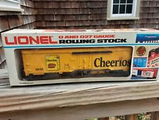 LIONEL 9832 CHEERIOS REEFER - DISPLAYED ONLY