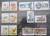 DDR Briefmarken 1980 Speisepilze, Deutsche Post und Leipziger Messe