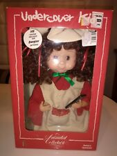 NEW VINTAGE SANTAS BEST UNDERCOVER KIDS BRITTANY ANIMATED  DOLL