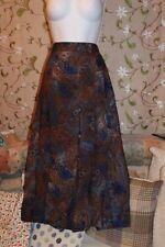Wool Calf Length Pleated, Kilt Formal Skirts for Women