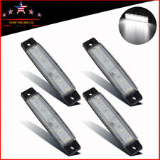 4x White Led Rock Lights For Jeep Offroad Truck Utv Bed Under Body Fog Light
