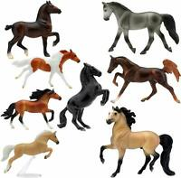 Breyer Deluxe Horse Collection Stablemates 8 Piece Set Model #6058