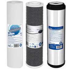 3 filtros de sustitución Pre Para Agua Fed Polo Ventana Limpieza Ósmosis Inversa RO