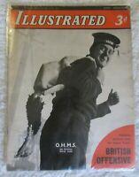 WW2 Vintage Illustrated Magazine-December 28th 1940-No. 44. Vol. II.