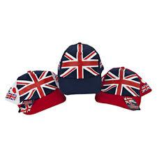 Adults Unisex Union Jack Baseball Cap - GB Olympics Royal Wedding Souvenir Hat