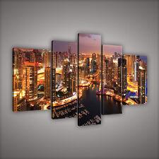 WANDBILD LEINWANDBILDBILD BILD CANVAS DUBAI STADT WOLKENKRATZER FOTO 3FX997S4A