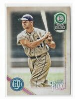 2018 Topps Gypsy Queen Baseball Legend short print high number #309 Jimmie Foxx