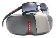 NEW Prada Sport Sunglasses SPS 50LS 1B0-3M1 Black / Grey Gradient Lens