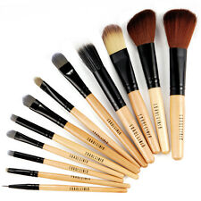 Fraulein 3°8 Make up Set 12 Cosmetici Legnosi Pennelli + Leopardato Custodia