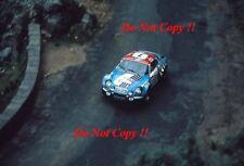 Jean-Luc Therier Alpine-Renault A110 1800 Tour de Corse Rally 1973 Photograph 1