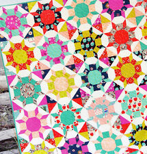 Shimmer - fabulous pieced quilt PATTERN - Cluck Cluck Sew