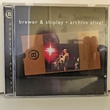 RARE ! Brewer & Shipley CD Archive Alive ! , ach 80006, 1997