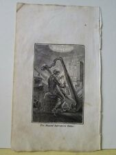 Vintage Print,MUSICAL INSTRUMENT MAKER,Mechanical Arts,1827,Watts,Occupations