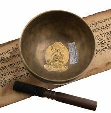 Bol chantant tibetain 7 metaux Nepal Ø 13 cm Bouddha medecine 550 g 27002 S11B2