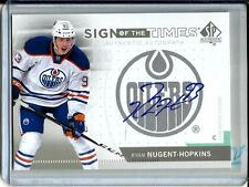 Ryan Nugent-Hopkins 13/14 SP Authentic Sign of the Times Autograph