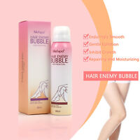 Mefapo Painless Cream SprayAway Hair Enemy Bubble for Body Legs Underarm