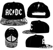 AC/DC Metal Rock Music Axl Rose Angus Young Snapback Flatbill Hat SACJ-100032