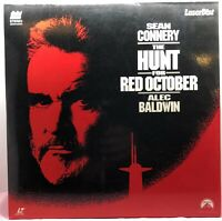 LD LASERDISC  The Hunt For Red October Movie LASERDISC LD