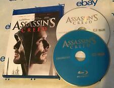Assassin's Creed (Blu-ray + DVD, 2-Disc Set, NO Digital Copy) Michael Fassbender