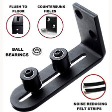 Adjustable Stay Roller Floor Guide for Bottom of Sliding Barn Door Ball Bearings