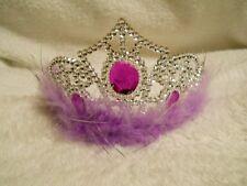 Fuzzy Princess Tiara's (12 Count)