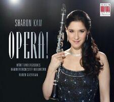 Sharon Kam/WKO-Opera! CD 15 tracks Rossini/Verdi/Wolf-Ferrari/+ NUOVO