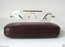 Neostyle Titanium 55-14 140 Dynasty 728 Gold Eyeglass Frames Mens Rimless Ray