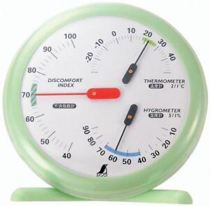 SHINWA Thermometer and Hygrometer Discomfort Index Meter 15 cm R-1 70480