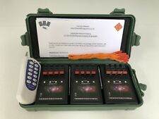 12 Cues Wireless Electronic Firework, Remote Firing System +12 E-Match Igniters