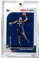 2019-20 Panini NBA Hoops Zion Williamson Rookie RC #258, New Orleans Pelicans
